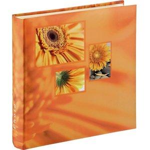 Hama 106252 Singo Photo Album - 100 Pages, Orange, Orange 10221186, Orange