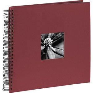 Hama 90144 Fine Art Spiral Bound Photo Album - 50 Pages, Bordeaux  10221185