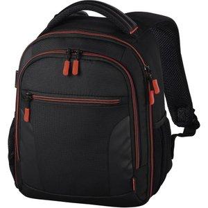 Hama Miami 150 Dslr Camera Backpack - Black & Red, Black 10217696, Black