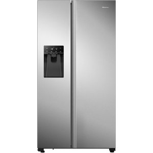Hisense Rs694n4tcf American-style Fridge Freezer - Stainless Steel, Stainless Steel, Stainless Steel