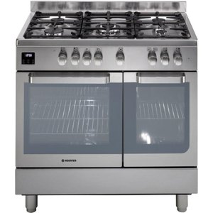 Hoover Hgd9395ix Dual Fuel Range Cooker - Stainless Steel, Stainless Steel, Stainless Steel