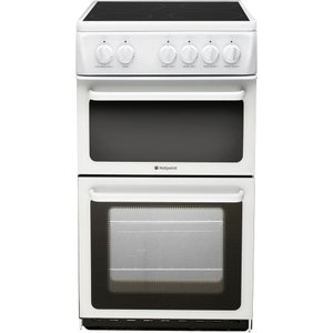 Hotpoint Hae51ps Electric Ceramic Cooker - White, White, White