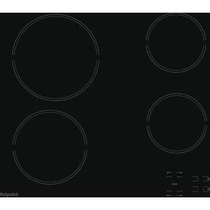 Hotpoint Hr 651 C H Electric Ceramic Hob - Black, Black 10164865, Black