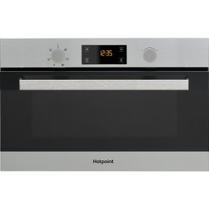 Hotpoint Md 344 Ix H Built-in Combination Microwave - Stainless Steel, Stainless Steel 10151180, Stainless Steel