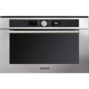 Hotpoint Md 454 Ix H Built-in Combination Microwave - Stainless Steel, Stainless Steel 10149336, Stainless Steel