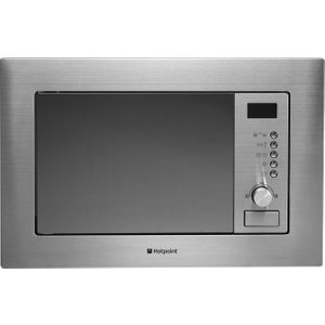 Hotpoint Mwh1221x Built-in Microwave With Grill - Stainless Steel, Stainless Steel 10145106, Stainless Steel