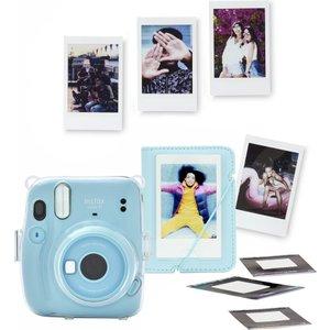 Instax Mini 11 Instant Camera Bundle - Sky Blue, Blue 10214074, Blue