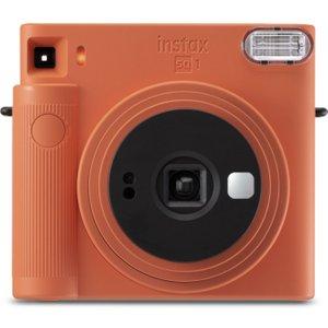 Instax Sq1 Instant Camera - Terracotta Orange, Orange, Orange