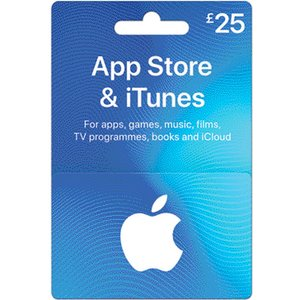 Itunes £25 App Store & Itunes Gift Card  10088194
