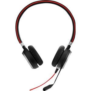 Jabra Evolve 40 Uc Headset - Black, Black 10206100, Black