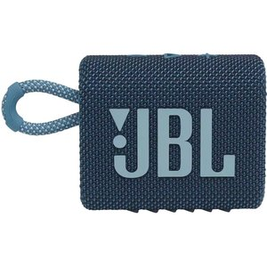 Jbl Go3 Portable Bluetooth Speaker - Blue, Blue, Blue