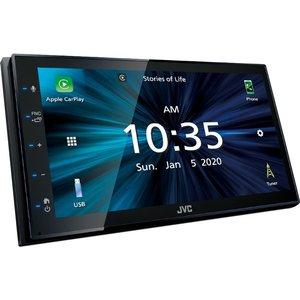Jvc Kw-m560bt Smart Bluetooth Car Radio - Black, Black Kwm560bt, Black
