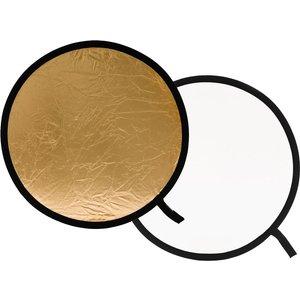 Lastolite Lr1241 30 Cm Collapsible Reflector - White & Gold, White, White