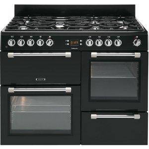 Leisure Cookmaster Ck110f232k Dual Fuel Range Cooker - Black, Black, Black