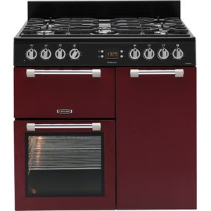 Leisure Cookmaster Ck90f232r Dual Fuel Range Cooker - Red, Red, Red