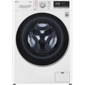 Lg Ai Dd V5 F4v508ws Wifi-enabled 8 Kg 1400 Spin Washing Machine - White, White, White