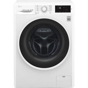 Lg F4j608wn Nfc 8 Kg 1400 Spin Washing Machine - White, White, White