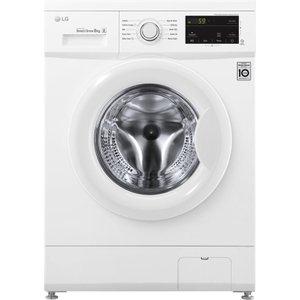 Lg F4mt08w 8 Kg 1400 Spin Washing Machine - White, White, White