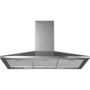 Logik L90chdx17 Chimney Cooker Hood - Stainless Steel, Stainless Steel, Stainless Steel