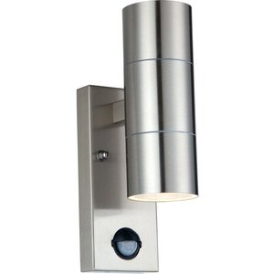 Nexus Luceco Lexdssudpir Wall Lamp - Gu10, Silver, Silver, Silver