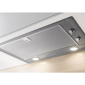 Miele Da2450 Integrated Cooker Hood - Stainless Steel, Stainless Steel, Stainless Steel
