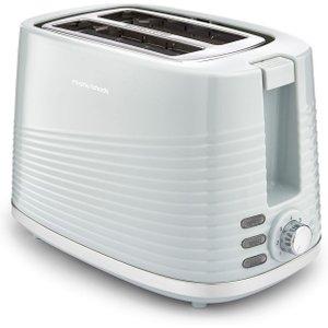 Morphy Richards Dune 220028 2-slice Toaster - Green, Green 2slice, Green