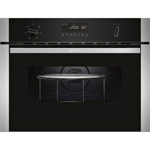 Neff C1amg83n0b Built-in Combination Microwave - Stainless Steel, Stainless Steel, Stainless Steel