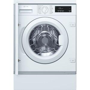 Neff W543bx0gb Integrated 8 Kg 1400 Spin Washing Machine - White, White, White