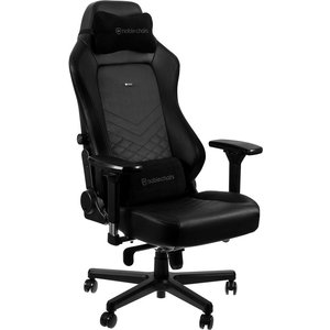 Noble Chairs Hero Gaming Chair - Black, Black 10192602, Black
