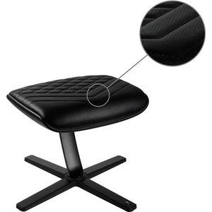 Noble Chairs Nbl-fr-pu-bl Footrest - Black, Black 10192609, Black