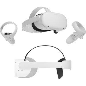 Oculusquest 2 Vr Gaming Headset & Elite Strap Bundle - 256 Gb