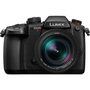 Panasonic Lumix Dc-gh5m2 Mirrorless Camera With Leica 12-60 Mm F/2.8-4 Lens - Black, Black Dcgh5m2, Black