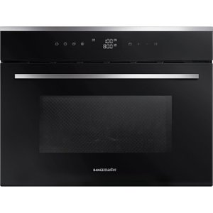 Rangemaster Rmb45mcbl/ss Built-in Combination Microwave - Black & Stainless Steel, Stainle, Stainless Steel