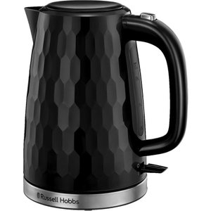 Russell Hobbs Honeycomb 26050 Jug Kettle - Black, Black 10221551, Black