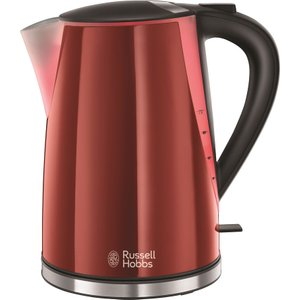 Russell Hobbs Mode Illuminated 21401 Jug Kettle - Red, Red 10164740, Red