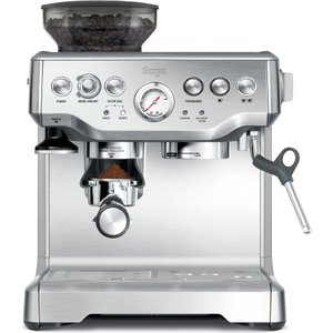 Sage Barista Express Bes875uk Bean To Cup Coffee Machine - Silver, Silver, Silver