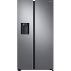 Samsung American-style Fridge Freezer Silver Rs68n8320s9, Silver Rs8000, Silver