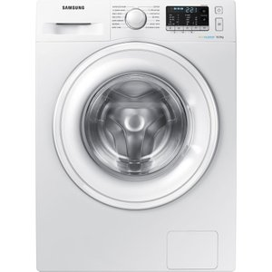 Samsung Ecobubble Ww80j5555dw 8 Kg 1400 Spin Washing Machine - White, White, White