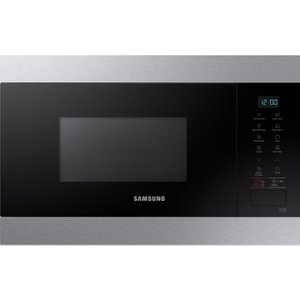 Samsung Mg22m8074at/eu Built-in Microwave With Grill - Black & Stainless Steel, Stainless , Stainless Steel