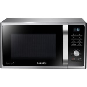 Samsung Ms28f303tas/eu Solo Microwave - Silver, Silver, Silver