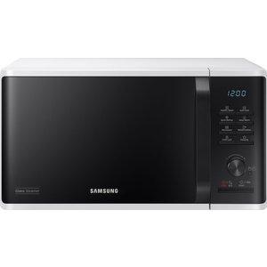 Samsung Mw3500k Solo Microwave - White & Black, White, White