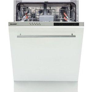 Sharp Qw-ni14i47ex-en Full-size Integrated Dishwasher  Qwni14i47exen