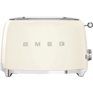 Smeg 50's Retro Tsf01cruk 2-slice Toaster - Cream, Cream, Cream