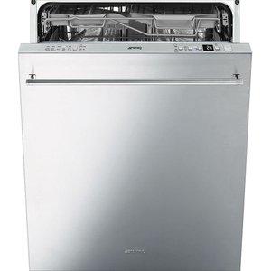Smeg Di614pss Full-size Semi-integrated Dishwasher - Stainless Steel, Stainless Steel, Stainless Steel