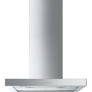Smeg Ks60xe-2 Chimney Cooker Hood - Stainless Steel, Stainless Steel KS60XE2, Stainless Steel