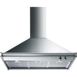 Smeg Opera Kd90xe Chimney Cooker Hood - Stainless Steel, Stainless Steel, Stainless Steel