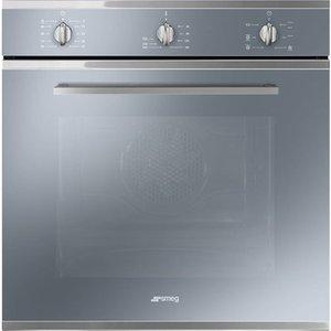 Smeg Sf64m3vs Electric Oven - Silver, Silver, Silver