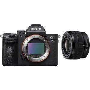 Sony A7 Iii Mirrorless Camera & Fe 28-60 Mm F/4-5.6 Lens Bundle