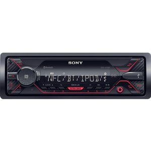 Sony Dsx-a410bt Smart Bluetooth Car Radio - Black, Black Dsxa410bt, Black