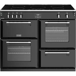 Stoves Richmond S1100ei 110 Cm Electric Induction Range Cooker - Black, Black, Black